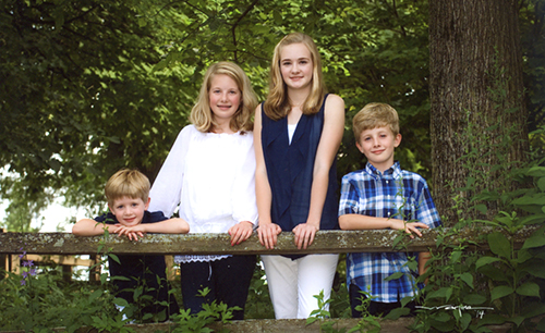 Gloria Rodgers' grandchildren